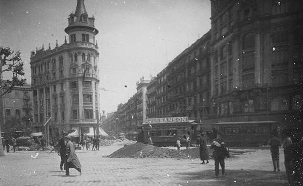 Sant Josepmaria Escrivà a Barcelona, any 1924
