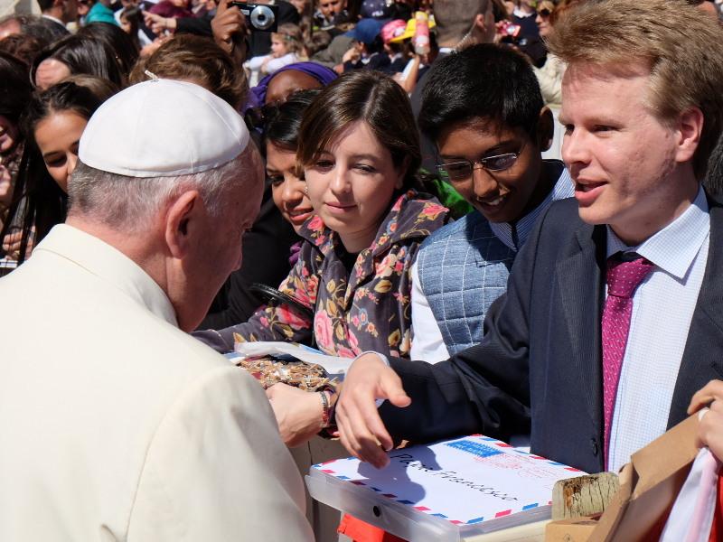 Opus Dei - Папата към младежите от Опус Деи: Търсете Христос