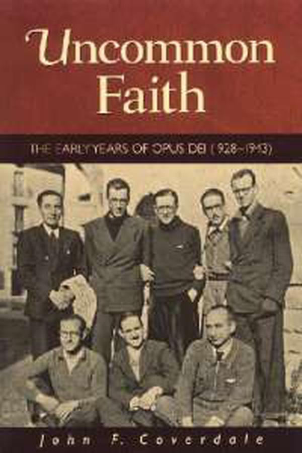 1928-1936: I primi anni dell'Opus Dei. Indice  dei contenuti
