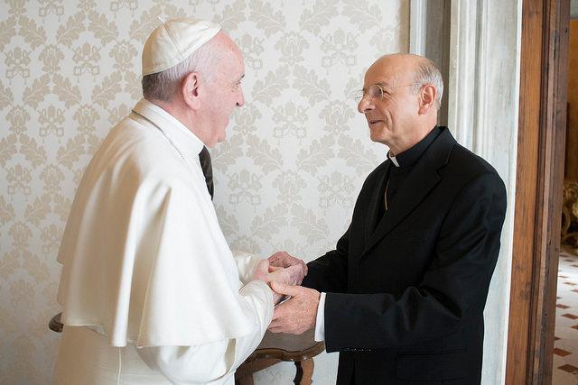 Opus Dei - Paavst Franciscus võttis audientsil vastu uue Opus Dei prelaadi Mons. Fernando Ocárizi