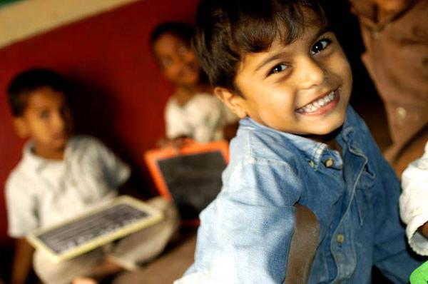 """""""Els nens porten vida, alegria, esperança"""""""