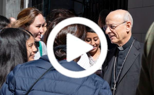 Àudio de la meditació del prelat el 14 de febrer de 2020