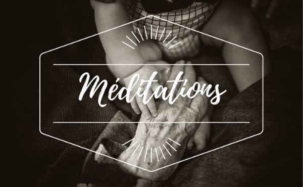 Méditation : 29 décembre