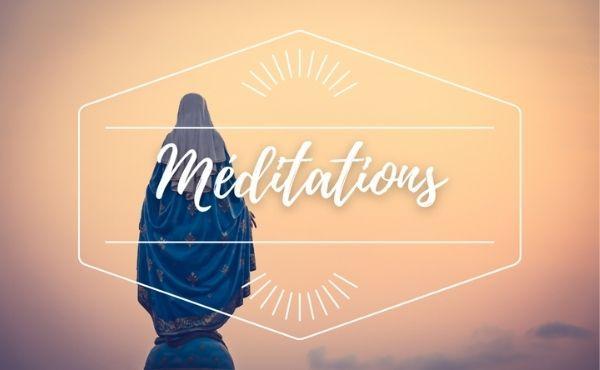 Méditation : 1er janvier, Sainte Marie, Mère de Dieu