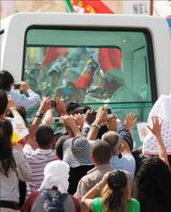 Benedicto XVI en Israel