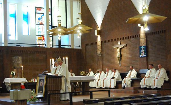 Nuntiens predikan i Stockholms domkyrka
