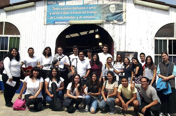 San Josemaría en la ciudad del emperador inca Pachacútec