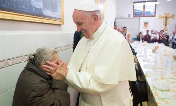 Opus Dei - Mensagem do Papa para 3˚ Dia Mundial dos Pobres