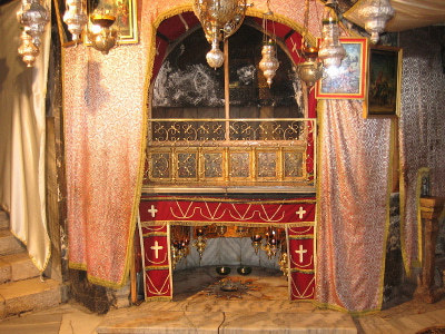 Ort der Geburt Jesu (Foto: Darko Tepert, Wikimedia Commons.