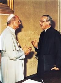 Avec le vénérable Paul VI