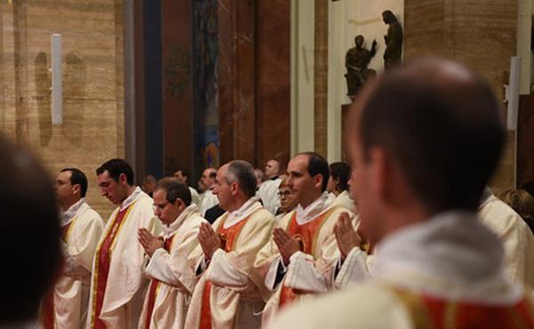Opus Dei - Primeres misses de Mn. de Prada, Mn. Fuentes i Mn. Graells