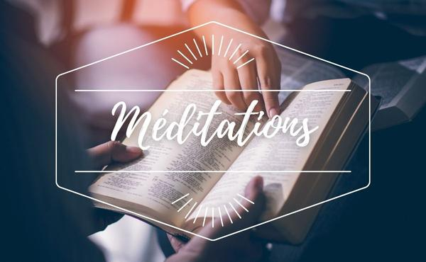 Méditation : 6 janvier