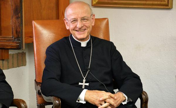 23 January 2017: Monsignor  Ocáriz, Prelate of Opus Dei