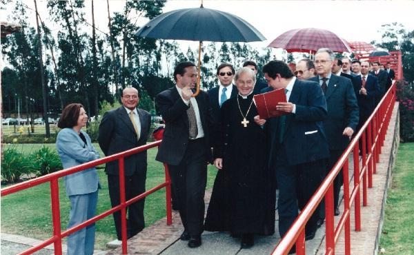 """""""La santidad no es una utopía"""": dijo el Padre en la Universidad de La Sabana hace 14 años"""