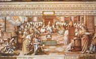 O que aconteceu no Concílio de Niceia?