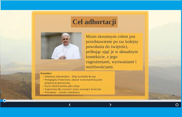 """Opus Dei - Prezentacje o """"Gaudete et Exsultate"""""""