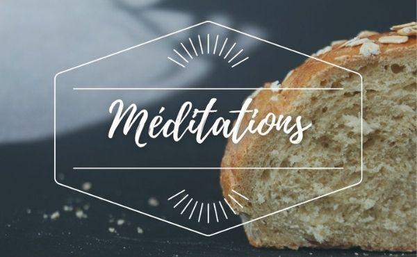 Méditation : Mercredi de la 1ère semaine de l'Avent