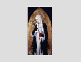 Św. Josemaria i św. Katarzyna ze Sieny