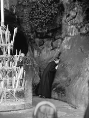 I Lourdes (Frankrig). 9-VII-1960.