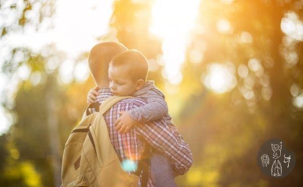 Au fil de l'Évangile de samedi : dans les bras de Dieu notre Père.