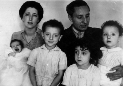 in 1945, soon after the birth of their fourth child, Pilar.