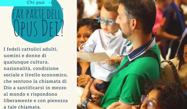 Chi può far parte dell'Opus Dei?