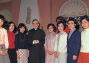 Den hellige Josemaria Escrivá. Villa Sachetti, Rom (Italien). 17-III-1970.