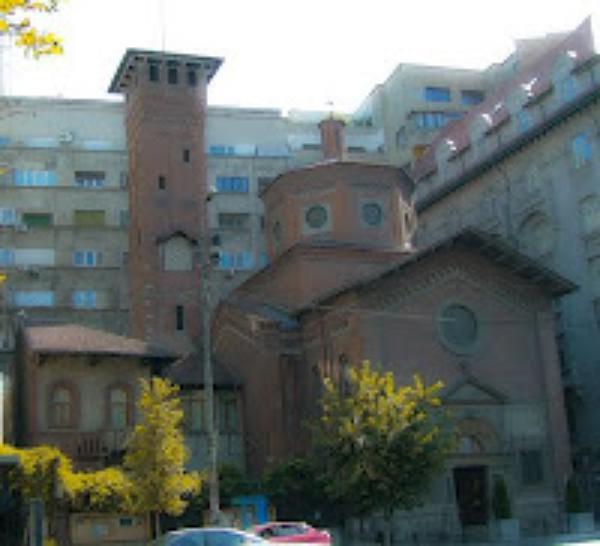 Procesiune cu Preasfântul Sacrament în Bucureşti