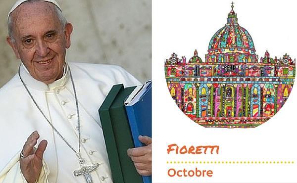 Les fioretti du pape François en octobre