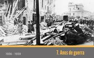 7. Durante a Guerra Civil Espanhola