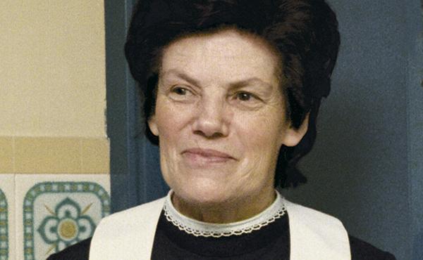Falece Dora del Hoyo, a primeira numerária auxiliar