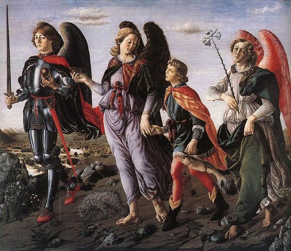 The Archangels: Saints Michael, Gabriel and Raphael