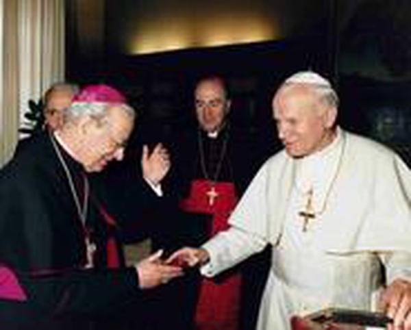 Dekret über den heroischen Tugendgrad des Gründers des Opus Dei. 9. April 1990