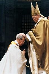OrdenaciСn episcopal. BasМlica de San Pedro (Vaticano). 6-I-1991