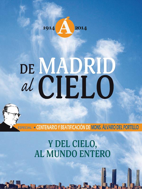 """Portada del especial de """"Mundo Cristiano"""" sobre Álvaro del Portillo"""