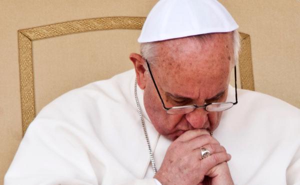 """Papa Francesco: """"Non si fa la guerra in nome di Dio"""""""