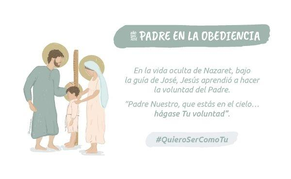 «Padre en la obediencia»