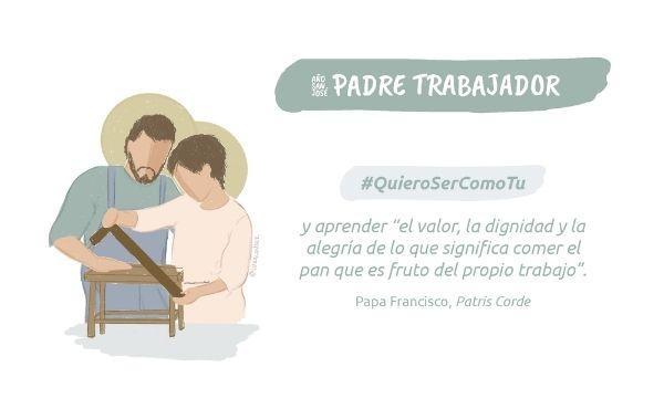 «Padre trabajador»