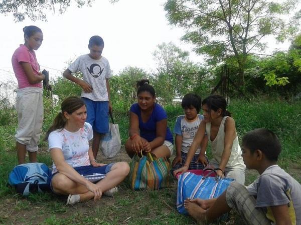 """Un centenar de jóvenes dio """"impulso social"""" a un pueblo chaqueño"""
