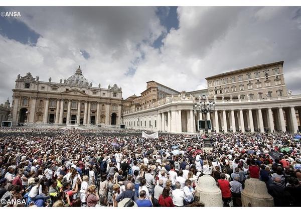 Pápežova audiencia o roku milosrdenstva (23. marca 2016)