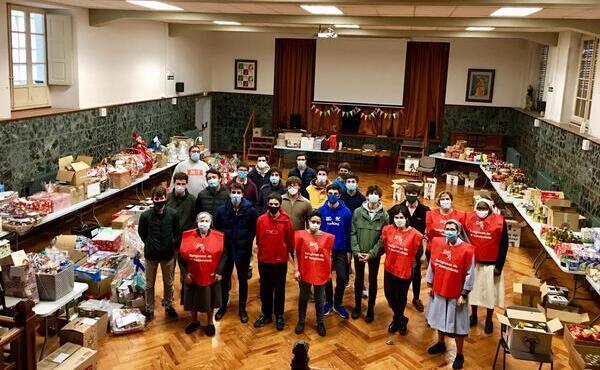 Todas las familias en Belén para llevar la Navidad a los más necesitados