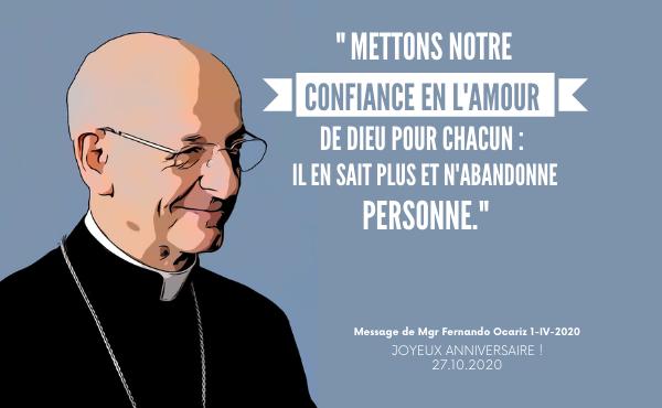 Anniversaire du prélat de l'Opus Dei