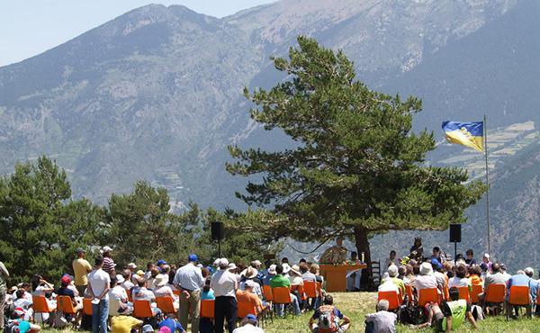 Els estels tornen a volar en l'Aplec de sant Josepmaria a Andorra