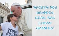 Mensagem do Papa Francisco para o Jubileu da misericórdia dos adolescentes