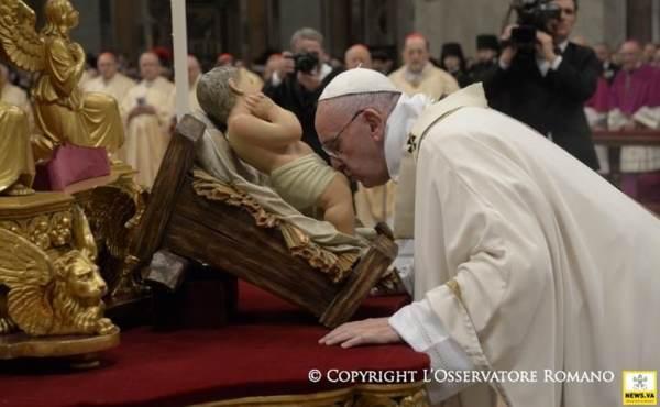 Palavras do Papa durante o tempo de Natal - 2015