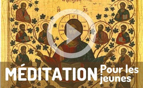 Méditation audio pour les jeunes : Rester uni au Christ