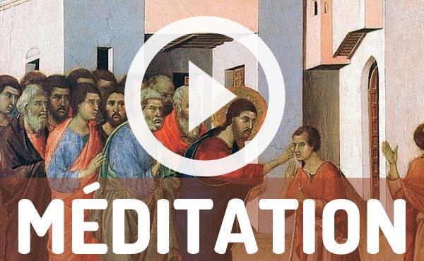 Méditation audio : l'aveugle de naissance