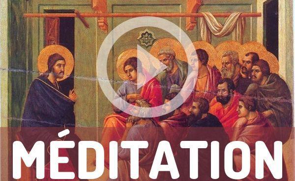 Méditation audio : discours d'adieu de Jésus