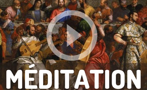 Méditation audio :  Le banquet des noces