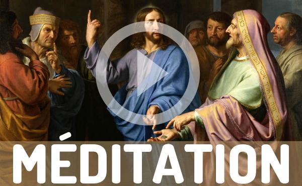 Méditation audio : à César ou à Dieu